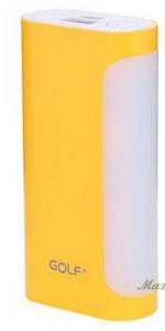 Зовнішній акумулятор GOLF GF-D12 5000 mah