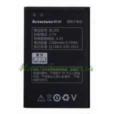 Акумулятор BL203 для Lenovo A208, A218T, A269, A278t, A305E, A318, A369, A66