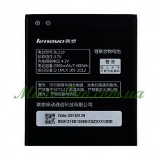 Акумулятор для мобільного телефону Lenovo A536, A766, A606, A656, A750E, S650, S820 (BL210) 2000 mAh