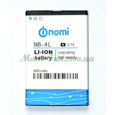 Аккумулятор для Nomi i240 (NB-4L)