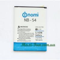 Аккумулятор для Nomi i504 Dream (NB-54)