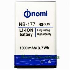 Аккумулятор для Nomi i177/i180 (NB-177)