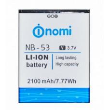 Аккумулятор для Nomi i502 Drive (NB-53)