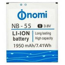 Аккумулятор для Nomi i505 Jet (NB-55)