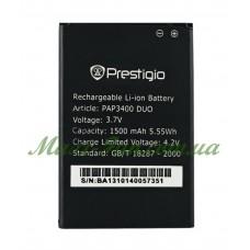Акумулятор PAP 3400 для Prestigio MultiPhone 3400