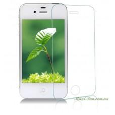 Захисне скло iPhone 4 прозоре