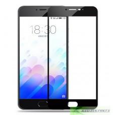 Защитное стекло HONOR 3D Glass Meizu M3 Note черное, 9H (2.5D)