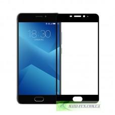 Защитное стекло HONOR 3D Glass Meizu M5 Note черное, 9H (2.5D)