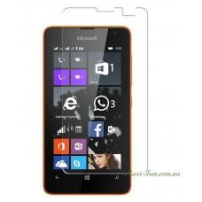 Защитное стекло Nokia Lumia 430 (Microsoft) прозрачное, 9H (2.5D)