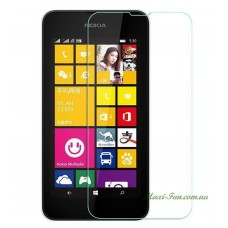 Защитное стекло Nokia Lumia 530 прозрачное, 9H (2.5D)