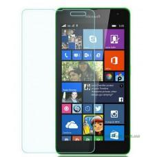 Защитное стекло Nokia Lumia 535 (Microsoft) прозрачное, 9H (2.5D)