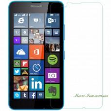 Защитное стекло Nokia Lumia 550 (Microsoft) прозрачное, 9H (2.5D)