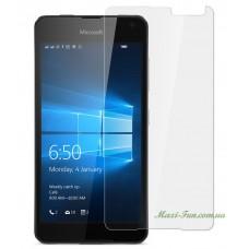 Защитное стекло Nokia Lumia 650 (Microsoft) прозрачное, 9H (2.5D)