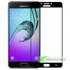 Защитное стекло Samsung A310 (A3 2016 года) Black Full Screen, 9H (2.5D)