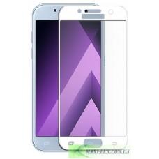 Защитное стекло Samsung A320 (A3 2017 года) White Full Screen, 9H (2.5D)