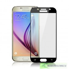 Захисне скло Samsung A510 (A5 2016 року) Black Full Screen, 9H (2.5D)