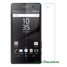 Защитное стекло Sony Xperia E5 (F3311) прозрачное, 9H (2.5D)