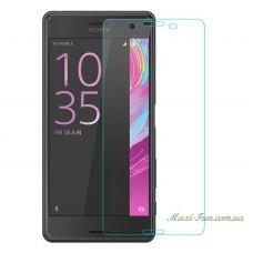 Защитное стекло Sony Xperia X (F5122) прозрачное, 9H (2.5D)