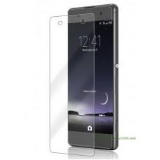 Защитное стекло Sony Xperia XA (F3112) прозрачное, 9H (2.5D) без закругления