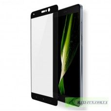 Захисне скло Xiaomi Mi5s Plus Black Full Screen, 9H