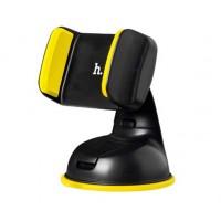 Автодержатель Hoco CA5 Holder Black / Yellow для телефона