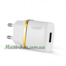 Мережевий ЗП LDNIO DL-AC50 (1A) White
