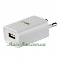 СЗУ Meizu 2.1A USB с кабелем microUSB White