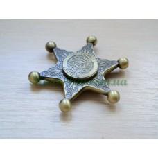 Спінер Sherif Star Gold MT-18